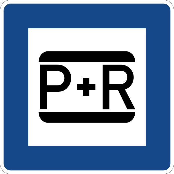 Park and Ride Parkplätze